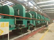 带钢厂家生产车间流水线展示