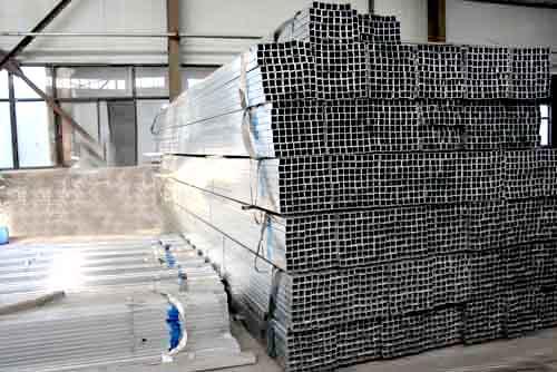 方矩形镀锌钢管